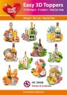 Easy 3D Utstansat - Drinks & Coctails