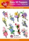 Easy 3D Utstansat - Spring Flowers