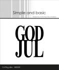 Simple and basic - Dies - God Jul