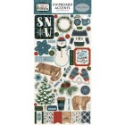 Carta Bella Chipboard - Let it Snow