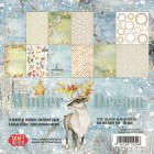 Craft & You - Dubbelsidiga papper - Winter Dream 30x30 cm
