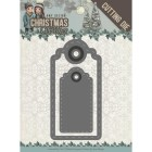 Amy Design Dies - Christmas Wishes - Wishing Labels