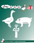by Lene - Dies - Christmas Pig and Duck