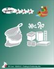 by Lene - Dies - Santa Claus & Gift Bag