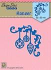 Nellie Snellen - Dies - Shape Dies - Christmas hanger-2