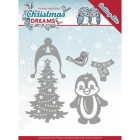 Yvonne Creations Dies - Christmas Drems - Christmas Penguin
