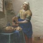 Servett The Milkmaid  Vermeer