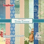 ScrapBerrys Pappersblock - Holiday Romance Set 6x6 - 24sheets