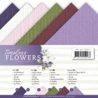 Precious Marieke - Pappersblock -  A5 - Timeless Flowers