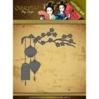 Amy Design Dies - Oriental - Chinese Lantern