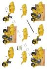 Dan design 3D Klippark - Grävmaskin