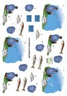 Dan-design 3D Klippark - Fiskare