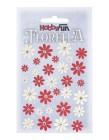 HobbyFun - Florella Blommor röd/créme