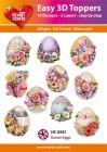 Easy 3D Utstansat - Easter Eggs