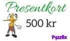 Pyzzlix Presentkort 500 kr