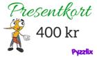 Pyzzlix Presentkort 400 kr