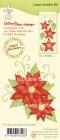 Leane Creative - Clearstamp - Flower Poinsettia