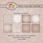 Dixi Craft Pappersblock - Wedding Background