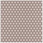 Gummiapan papper - Vita snöflingor - Mandel bakgrund