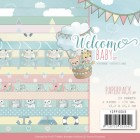 Yvonne Creations Pappersblock - Welcome Baby