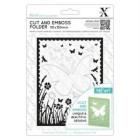 Xcut Cut & Embossingfolder - Butterfly Aperture