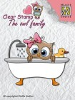 Nellie Snellen - Clearstamps - Taking a bath