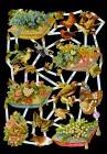Bokmärke - Kudde m blommor
