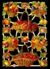 Bokmärke - Fruktkorg