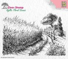 Nellie Snellen - Clearstamps - Cornfield and country road
