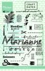 Marianne Design Clearstamp - Craft Dates 2