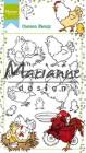 Marianne Design Clearstamp - Hetty`s Chicken family