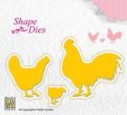 Nellie Snellen - Shape Dies - Chiken Family