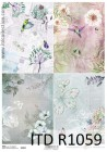 Itd Collection - Rice decoupage paper R1059 A4