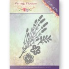 Jeaninés Art Dies - Vintage Flowers - Vintage Foliage