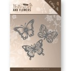 Jeaninés Art Dies - Classic Butterflies and flowers - Butterflies