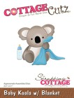 Cottage Cutz Dies - Baby Koala with blanket