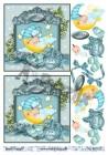 Barto Design 3D klippark - Babymotiv, pojke