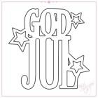 Rox Stamps Dies - God Jul med stjärnor