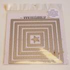 Rox stamps Dies - Cut & emboss - stygn fyrkantig