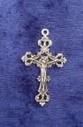Charms Kors med Jesusgestalt