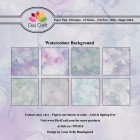 Dixi Craft Pappersblock - Watercolour Background