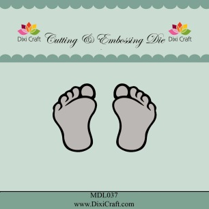 Dixi Craft - Dies - Feets - Dixi Craft - Dies - Feets