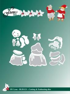 by Lene - Dies - Santas Wife - by Lene - Dies - Santas Wife