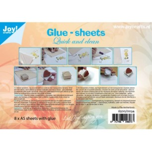 Joy - Glue-sheets Ouick and clean - Joy - Glue-sheets Ouick and clean