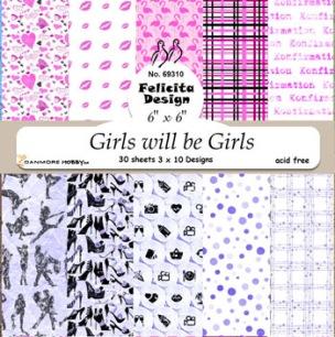 Felicita design - Papper - Girls will be Girls - Felicita design - Papper - Girls will be Girls