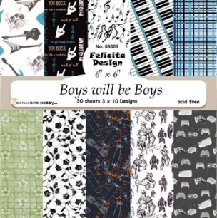 Felicita design - Papper - Boys will be Boys - Felicita design - Papper - Boys will be Boys