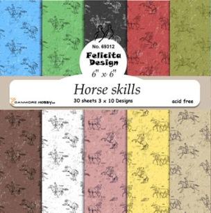 Felicita design - Papper - Horse skills - Felicita design - Papper - Horse skills