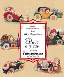 Felicita Design Toppers - Drive my car - Felicita Design Toppers - Drive my car