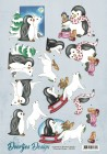 Doortjes Design - 3D Klippark - Pingviner