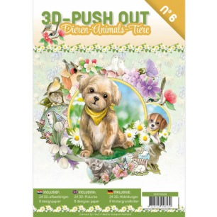 3D Utstansat - Bok - Animals - 3D Utstansat - Bok - Animals